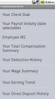 Screenshot of EmployeeXperience