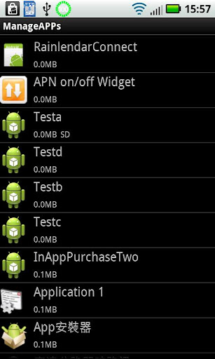 Apps Manage