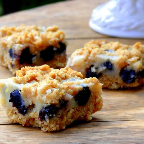 Blueberry-Lemon Oatmeal Bars
