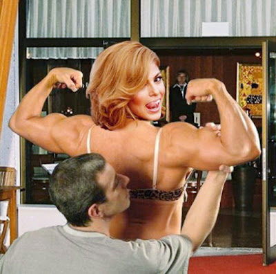 Chus Martinez - On Muscle Worship