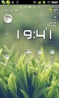 Screenshot of 墨迹天气插件皮肤BC1.2