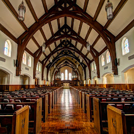 Sanctuary by Clark - Worthington - Buildings & Architecture Places of Worship ( mo, hdr, wood, church, kansas city, st. andrews, sanctuary )
