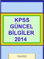 Screenshot of KPSS GÜNCEL BİLGİLER 2014