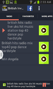 British Invasion Radio - screenshot