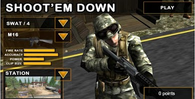 Screenshot of Shoot`Em Down: Shooting game