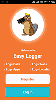 Screenshot of Easy Call and Texts Logger