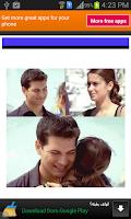 Screenshot of صور رومانسية لفريحة وامير