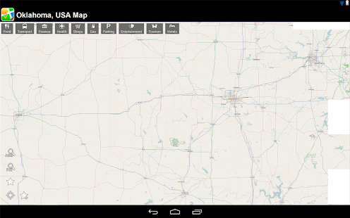 Oklahoma, USA Offline Map - screenshot