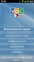 Screenshot of Learn Tagalog Flashcards