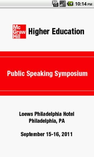 MH Public Speaking Symposium