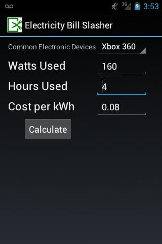 Electricity Bill Slasher