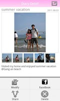 Screenshot of Couple Photo Diary