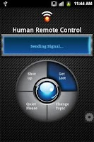 Screenshot of Human Remote Control