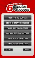 Screenshot of Six Steps to Success