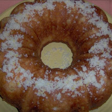 Peaches 'n Cream Pound Cake