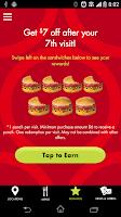 Screenshot of Schlotzsky's Lotz4Me Rewards