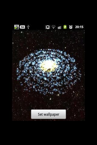 3D Galaxy Wallpaper