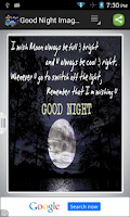 Screenshot of Good Night Images