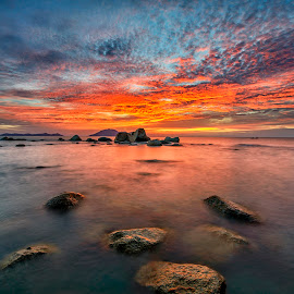 *** by Low Jian Shien - Landscapes Sunsets & Sunrises ( seascape, singkawang, landscape )