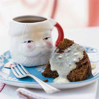 Steamed Pudding with Lemon Sauce