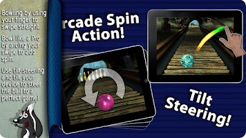 Screenshot of Gutterball Bowling HD