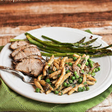 Rosemary Mustard Pork Tenderloin