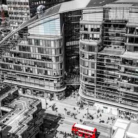 City life by Michael Payne - City,  Street & Park  Street Scenes