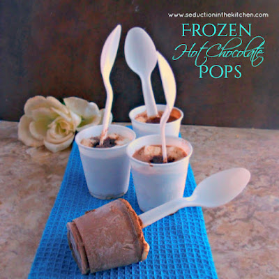 Frozen Hot Chocolate Pops
