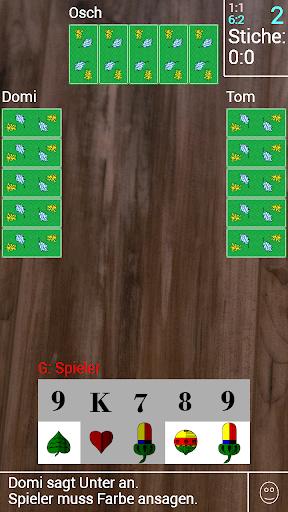 Watten Kartenspiel - screenshot