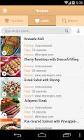 Screenshot of Shopper Grocery Shopping List