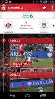 Screenshot of LFC League Tracker