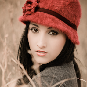 The face of winter by Lood Goosen (LWG Photo) - People Portraits of Women ( old, old car, lwg photo, street, couple,  )