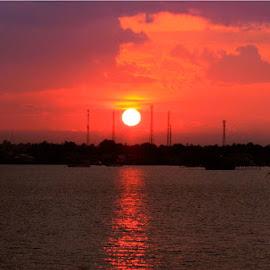 Sunset @ Bajoe Port by Agustina Djafar - Novices Only Landscapes