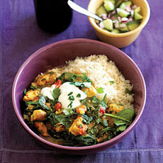 North Indian-Style Spinach Chicken