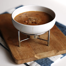 Chipotle, Chorizo & Dark Beer Fondue