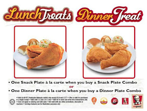 Lunch Treat and Dinner Treat PromotionLunch Treat and Dinner Treat  Malaysia Food Restaurant Reviews snack plate Delivery Snack PlateDinner Plate Kfc Harga Image Gallery   HCPR. Dining Plate Set Malaysia. Home Design Ideas
