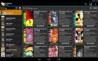 Screenshot of ComicRack Free