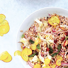Barley, Fennel, and Beet Salad