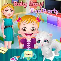 Screenshot of Baby Hazel Tea Party