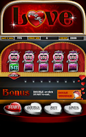 Screenshot of Magic Love Slot Machine HD