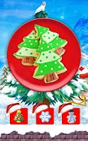Screenshot of Frozen Christmas: Cookie Maker