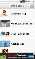 Screenshot of Tamil Beauties