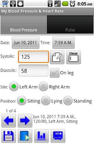 My Blood Pressure Heart Rate