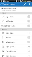 Screenshot of Upvise Pro CRM