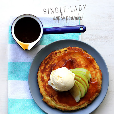 Single Lady Apple Pancake!