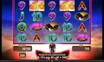 Screenshot of Buffalo Gold Slot Machine FREE