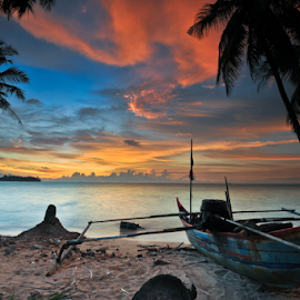 staring at the sea by Yose Hendradi - Transportation Boats