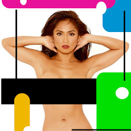 get get aw! by Oliver Madriñan - Digital Art People ( sexy, sex bomb girl, singer, rochelle, filipina, asian )