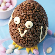 Chocolate Krispie chick