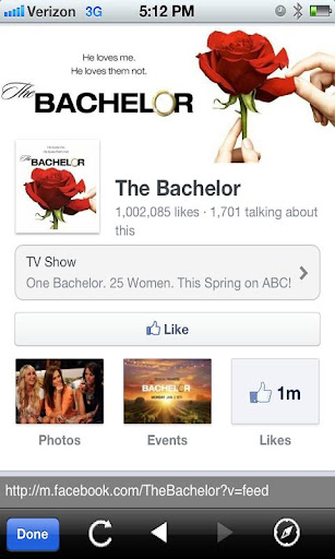 The Bachelor Fan App